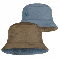 BUFF® Travel Bucket Hat zadok blue-olive M/L