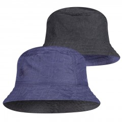 BUFF® Travel Bucket Hat eidel denim-blue S/M