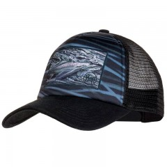 BUFF® Trucker Cap chrome graphite by A.D. Maddox