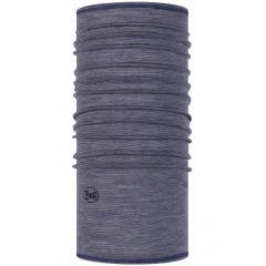 BUFF® Lightweight Merino Wool light denim multi stripes
