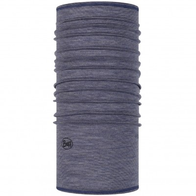 BUFF® Lightweight Merino Wool light denim multi stripes